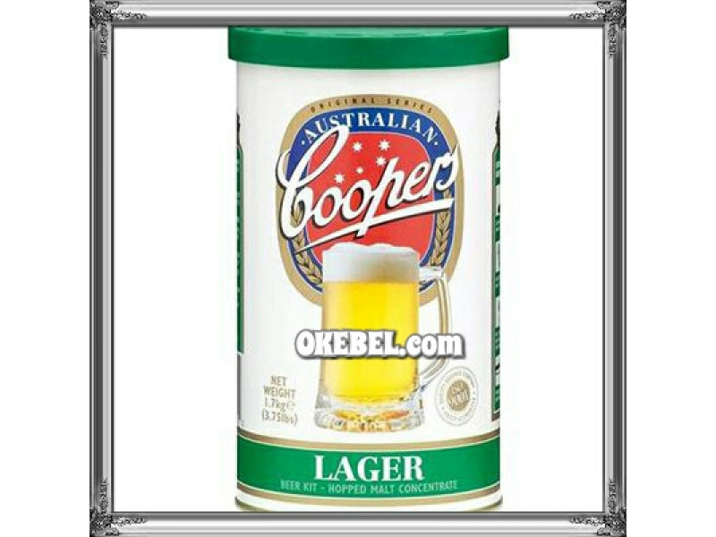 Lager Australienne  -Coopers