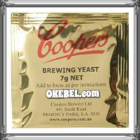 Levure à bière Coopers 15g Gram Dry Yeast -biere