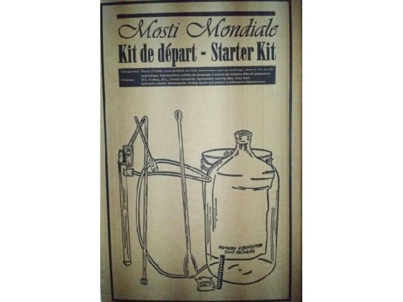 Kit de Départ pour le vin et la bière,avec Tourie en Vitre! depart