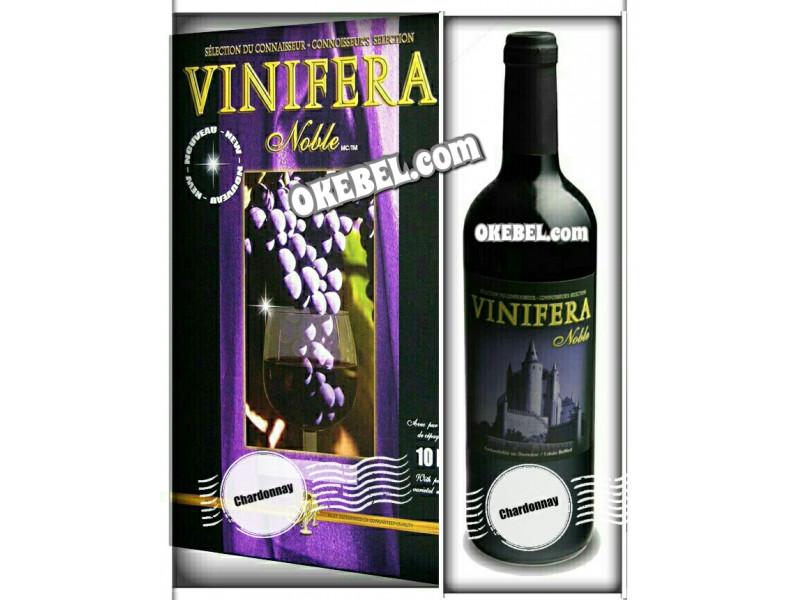 Kit à vin Pour fabriquer son vin maison Mosti Mondiale Vinifera Noble CHARDONNAY 10l. Vin blanc Donne 23L.