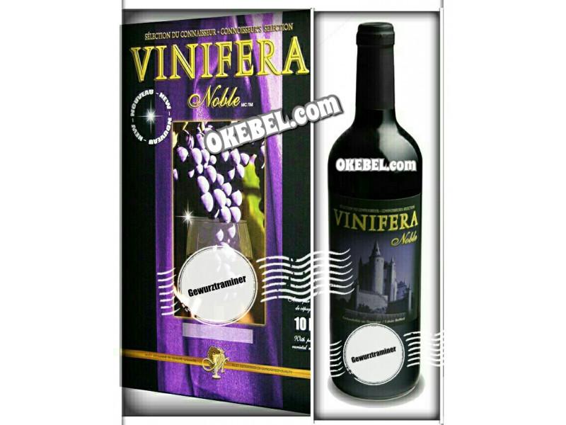 Kit à vin Pour fabriquer son vin maison Mosti Mondiale Vinifera Noble GEWURZTRAMINER 10l. Vin Blanc Donne 23L.