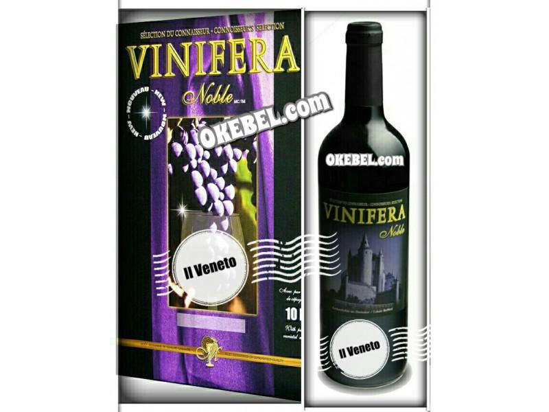 Kit à vin Pour fabriquer son vin maison Mosti Mondiale Vinifera Noble IL VENETO 10l. Vin Blanc Donne 23L.