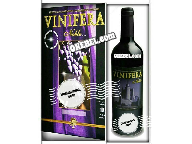 Kit à vin Pour fabriquer son vin maison Mosti Mondiale Vinifera Noble LIEBFRAUMILCH 10l. Vin Blanc Donne 23L.