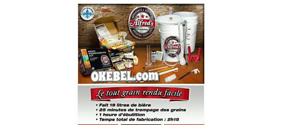 Alfred's All Grain Beer made easy!